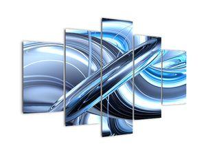 Slika modre abstrakcije (V020061V150105)