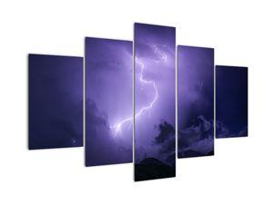 Slika - vijoličasto nebo in strela (V020062V150105)