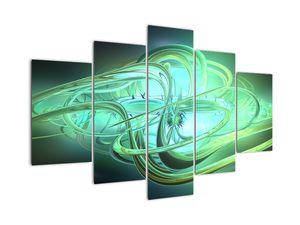 Slika zelene abstrakcije (V020063V150105)