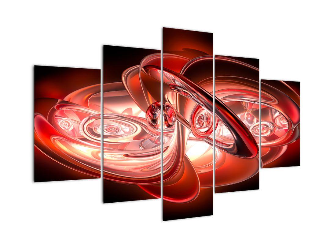 Obraz - červené tvary (V020064V150105)