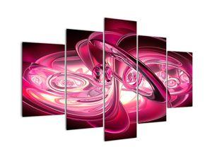 Slika rožnatih fraktalov (V020065V150105)