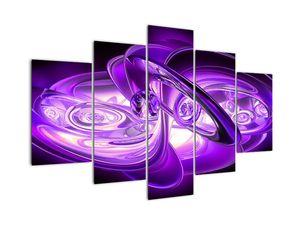 Tablou fractalilor în violet (V020066V150105)