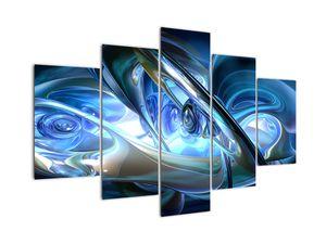 Slika modrih fraktalov (V020068V150105)