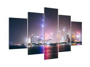 Obraz nočního Šanghaje (V020073V150105)