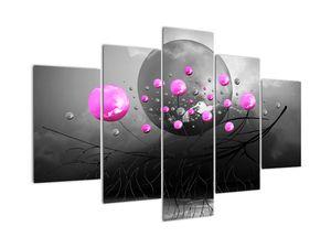 Tablou cu bile roz  (V020105V150105)