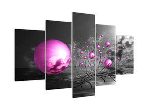 Rózsaszín gömbök képe (V020108V150105)
