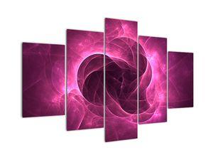 Obraz moderní růžové abstrakce (V020120V150105)