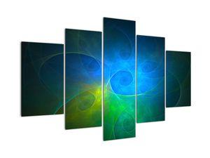 Kék absztrakció képe (V020122V150105)