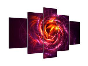 Obraz svítící moderní abstrakce (V020131V150105)