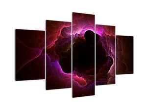 Obraz - abstrakce mraku (V020141V150105)