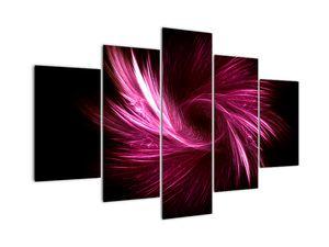 Obraz - růžová abstrakce (V020142V150105)