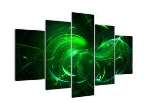 Tablou - abstracție verde (V020151V150105)