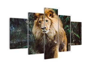 Tablou cu leu în natură (V020176V150105)