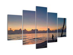 Obraz ženy na pláži (V020204V150105)