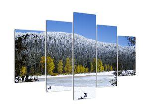 Tablou - munții înzăpeziți iarna (V020219V150105)