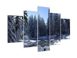 Tablou pădurii înzăpezite (V020221V150105)