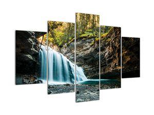 Tablou cu cascada de pădure (V020223V150105)