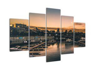 Kép - kikötő város (V020226V150105)