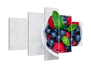 Kép - tál erdei gyümölccsel (V020228V150105)