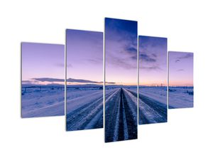 Tablou - autostrada iarna (V020229V150105)