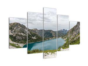Tablou cu lac în munți (V020243V150105)