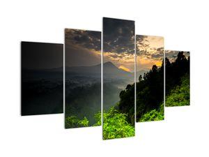 Obraz - zelená horská krajina (V020249V150105)