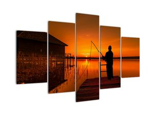 Tablou cu pescar (V020264V150105)