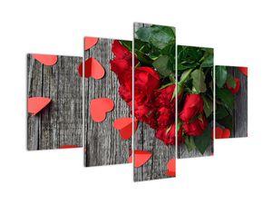 Obraz - kytice růží (V020298V150105)