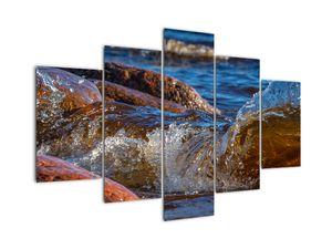 Tablou detailat - apa între pietre (V020317V150105)