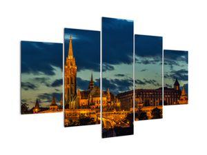 Kivilágított épületek képe (V020331V150105)