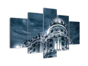 Tablou cu arhitectură în întuneric (V020350V150105)