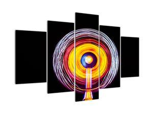 Tablou cu lumini în cerc (V020359V150105)