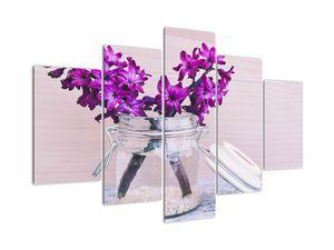 Obraz fialových květin (V020367V150105)