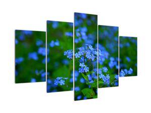Obraz modrých květin (V020377V150105)