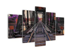 Tablou  cu pod de cale ferată (V020384V150105)
