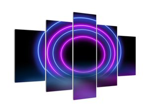 Tablou cu cercuri colorate (V020432V150105)