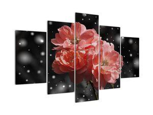 Obraz růžové květiny (V020471V150105)