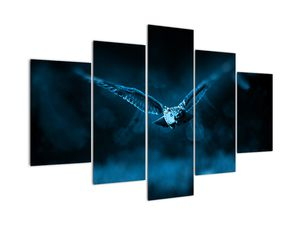 Tablou cu bufnița zburând (V020478V150105)