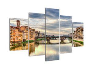 Város folyóval képe (V020510V150105)