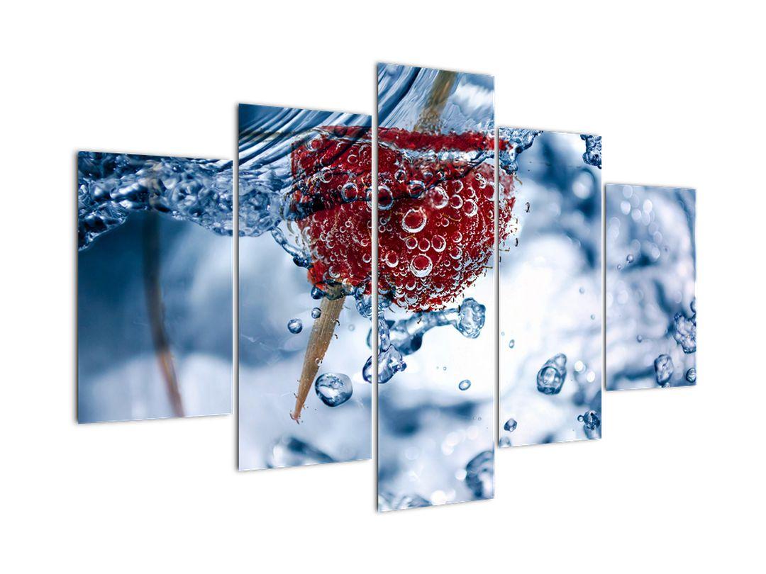 Kép - málna részlete a vízben (V020516V150105)