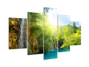 Slika - slapovi u prašumi (V020549V150105)