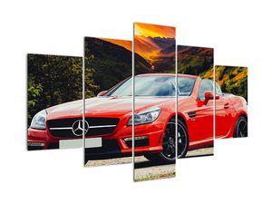 Obraz - červený Mercedes (V020564V150105)