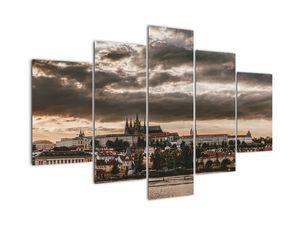 Tablou Castelului Praga în amurg (V020608V150105)