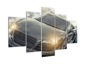 Audi autó képe - szürke (V020631V150105)