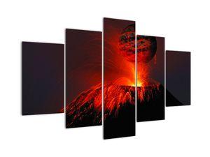 Obraz vulkánu (V020642V150105)