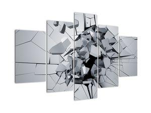 Obraz abstrakce 3D (V020700V150105)