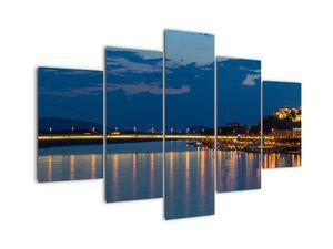 Obraz Bratislavy s hradem (V020704V150105)