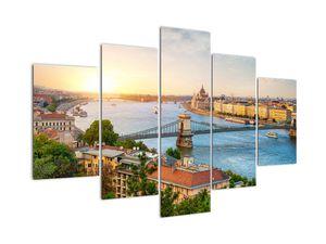 Obraz mesta Budapešť s riekou (V020712V150105)