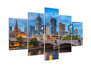 Obraz města Melbourne (V020715V150105)