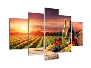 Obraz vinice s vínem (V020717V150105)